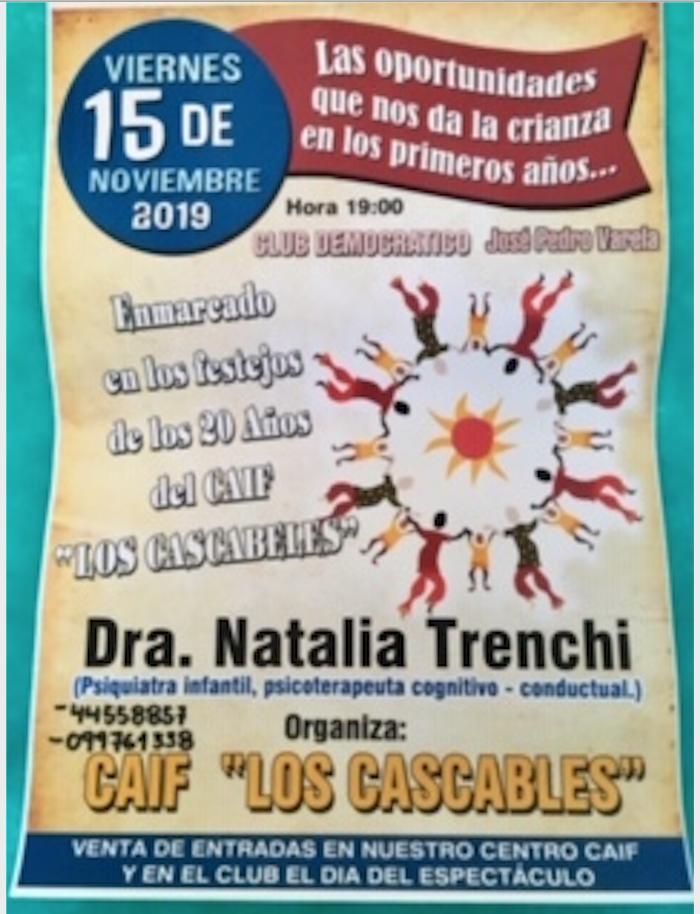 Las oportunidades que nos da  la crianza en los primeros años: en JP Varela, Lavalleja, 15/noviembre/19